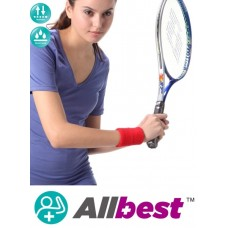Elastic Wrist Support- RED