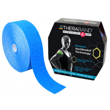 Kinesiology Tape 5cm×31.4M Bluk(Blue / Blue)