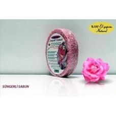 Sponge Soap  -Rose