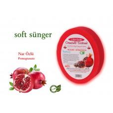 Sponge Soap -pomegranate