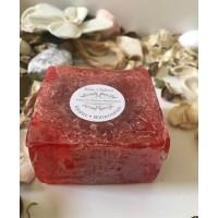 صابون الورد الليفي الطبيعي